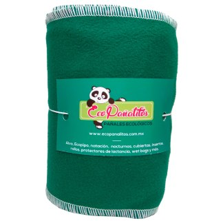 liner de tela verde ecopañalitos