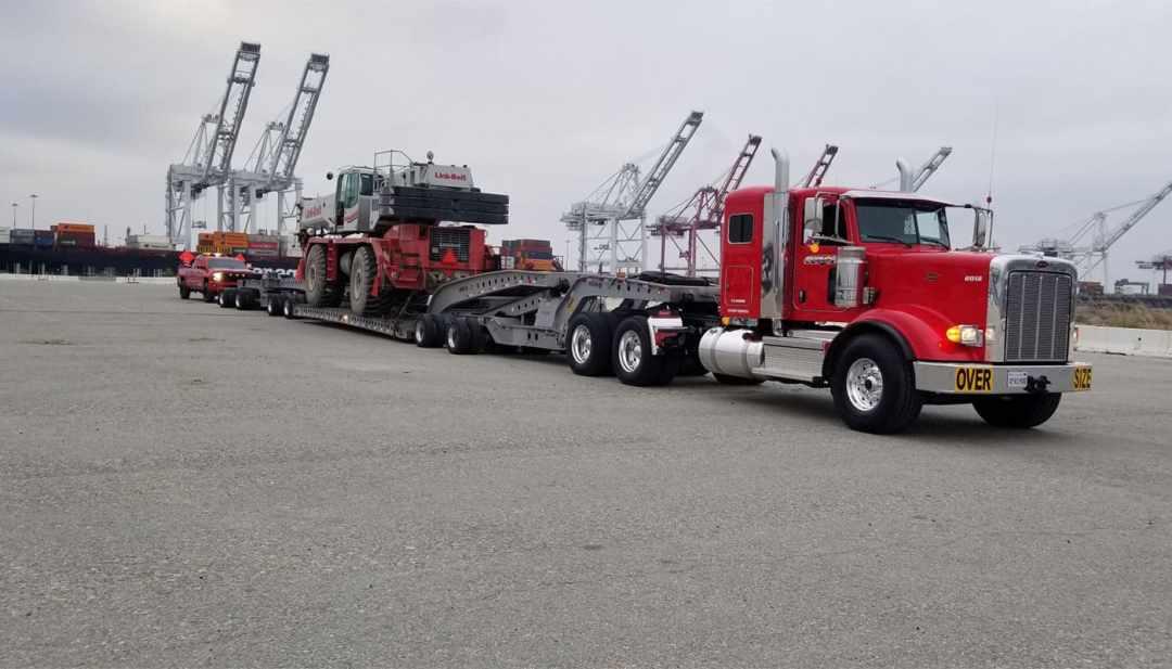Heavy Haul & Oversize Loads Truck