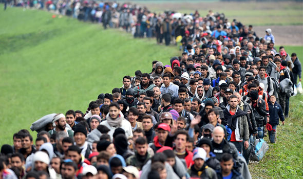 Huge-numbers-of-migrants-pictured-arriving-in-Slovenia-in-October-2015-786232