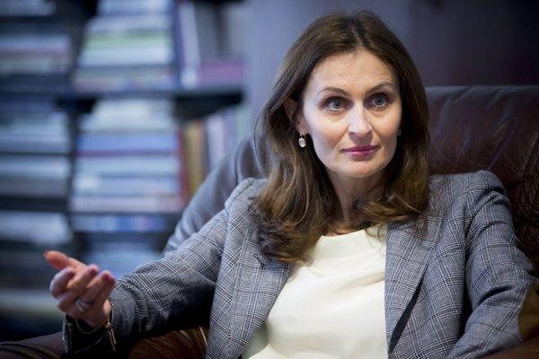 Andrea Kálavská Ministre de la Santé, en Slovaquie