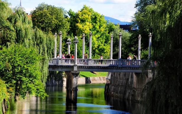 La ville slovène, qui s'est illustrée en matière de mobilité durable, a reçu le prix de capitale verte européenne en 2016.