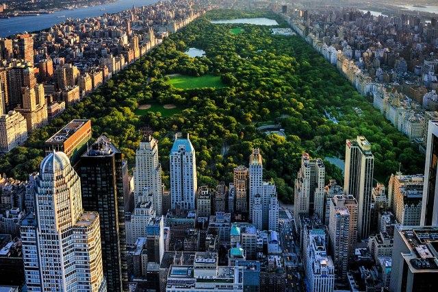 New York est une ville surprenant