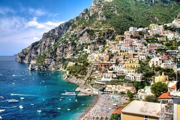 L'Italie devient extrêmement chaude en été