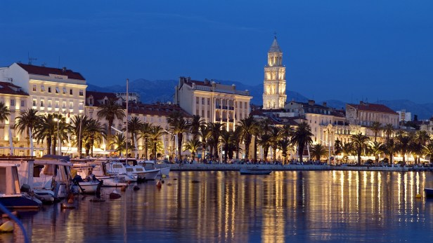 Split : la deuxième plus grande ville de Croatie est également la plus grande ville croate de la côte adriatique et une attraction majeure pour les étrangers.