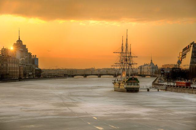 Saint-Pétersbourg en février