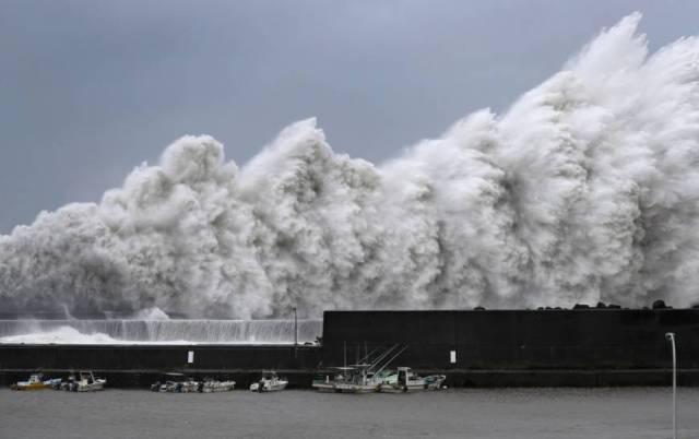 Le typhon Jebi représentatif du réchauffement climatique ?
