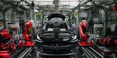 Production - Tesla modele 3