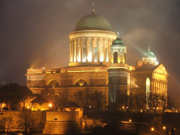 la basilique d'Esztergom
