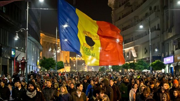Manifestation Bucharest