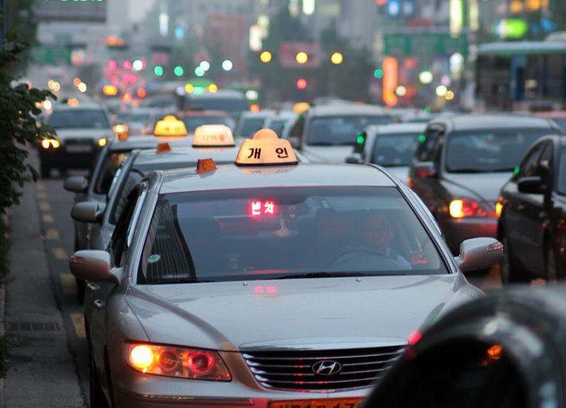 Taxis à Séoul - Corée du Sud