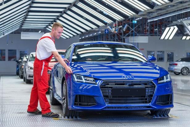 Audi.neue TT Produktion in Ungarn