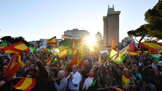 TOPSHOT-SPAIN-POLITICS-VOTE-VOX