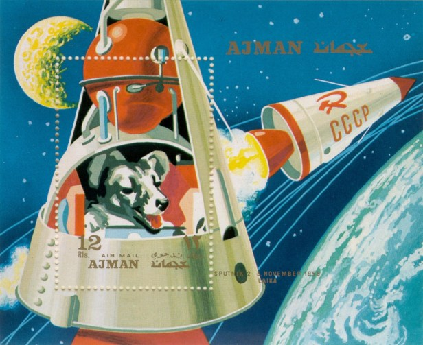 L'URSS a envoyé des animaux dans l'espace