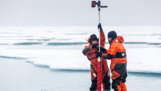 Arktis fehlt der Eisnachschub