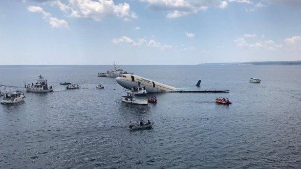 Airbus A330 immergé en tant que site de plongée