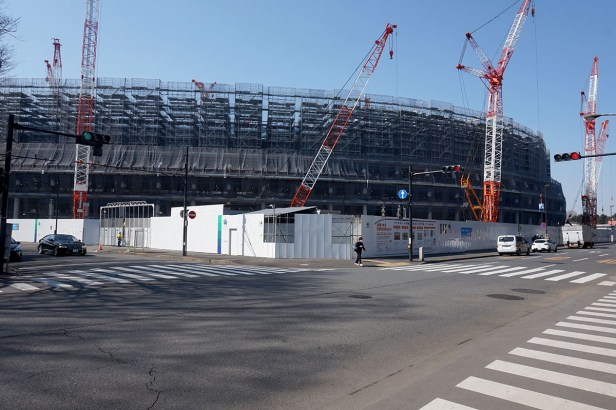 Tokyo Olympic construction