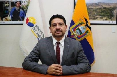 Ecuadors Vizeminister für Umwelt Michael Castañeda