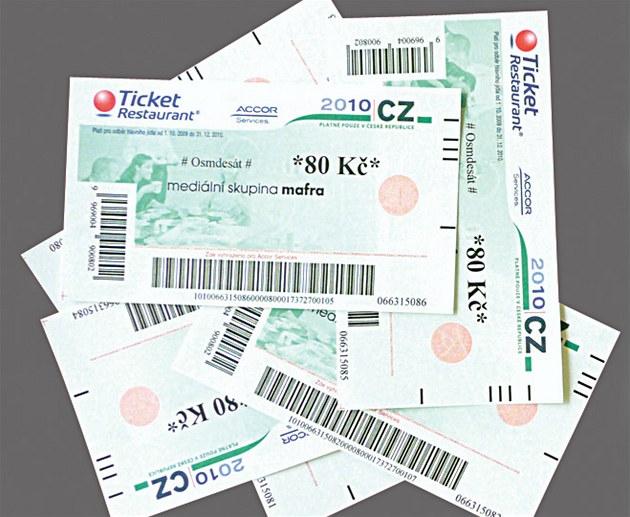7 des 10 entreprises tchèques fatiguées par la paperasserie des bons-repas «Stravenky». Le ministère propose une alternative