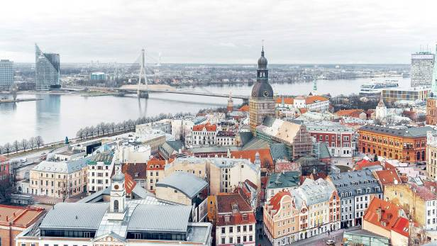 lets-travel-to-riga-latvia-with-rodion-kovenkin-Cityview-from-StPeter-Church