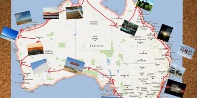 Australie-carte