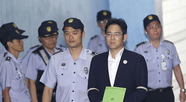 Corée du Sud : rejugé pour corruption, l'héritier de Samsung condamné à deux ans et demi de prison