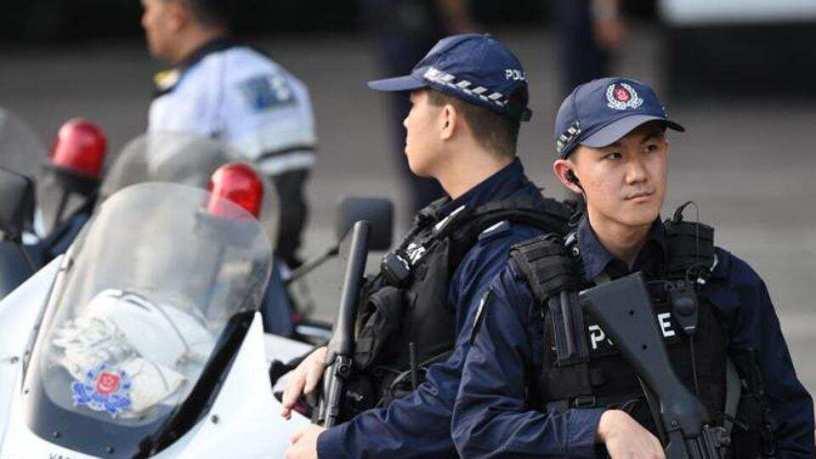 Singapour police