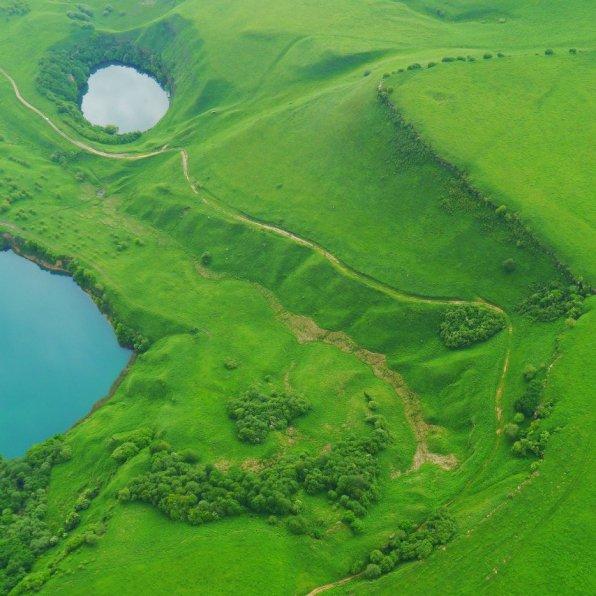 Aerial view, North Caucasus