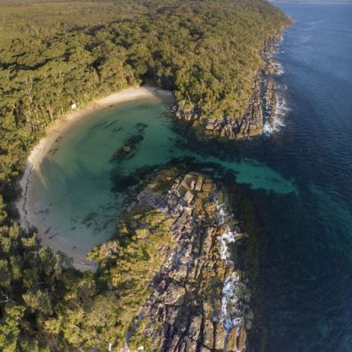 Australia-Camping-Honeymoon Bay