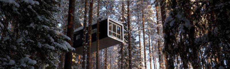 Swedish Treehotel-Cabin Pan