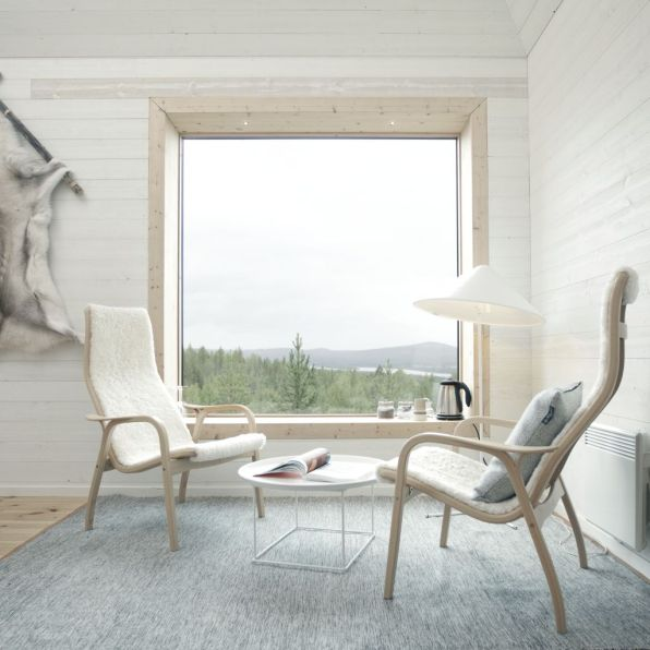 Swedish Treehotel-blue_cone_interior_4