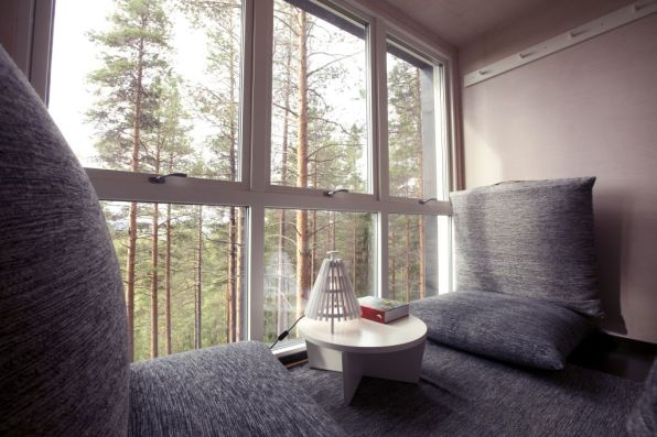 Swedish Treehotel-cabin_interior_2