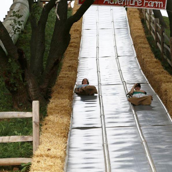Corn Maze-Slide-Cherry Crest Farms- Jim, the Photographer CC 2.0 via Flickr
