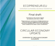 CE countries report FRONT page