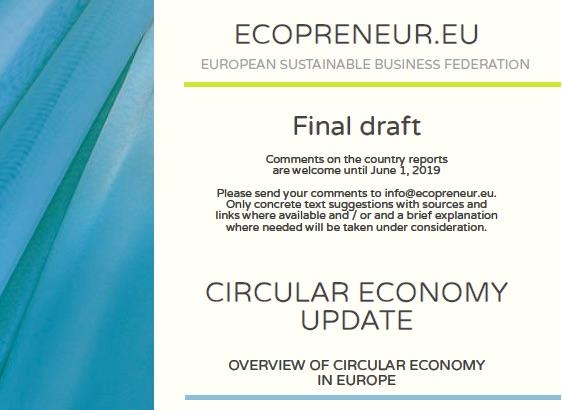 Press Release: EU Member States Gain Traction Towards Waste-free Economy