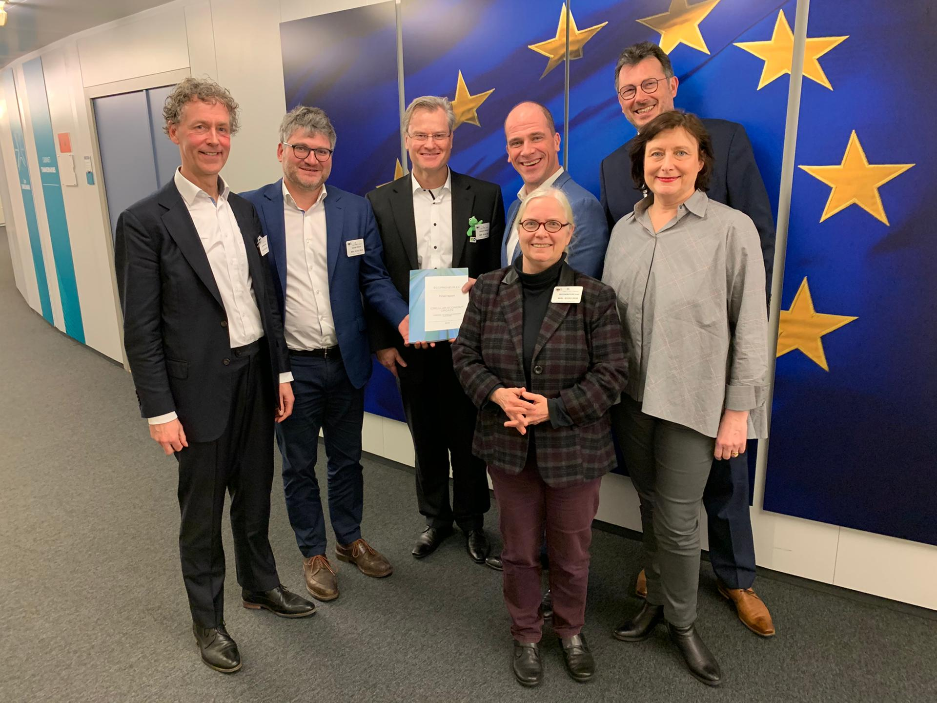 Ecopreneur.eu Meets With The Timmermans Office