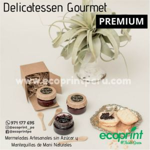 mermelada gourmet sin azucar artesanal regalo personalizado regalos premium corporativo ecoprint peru lima