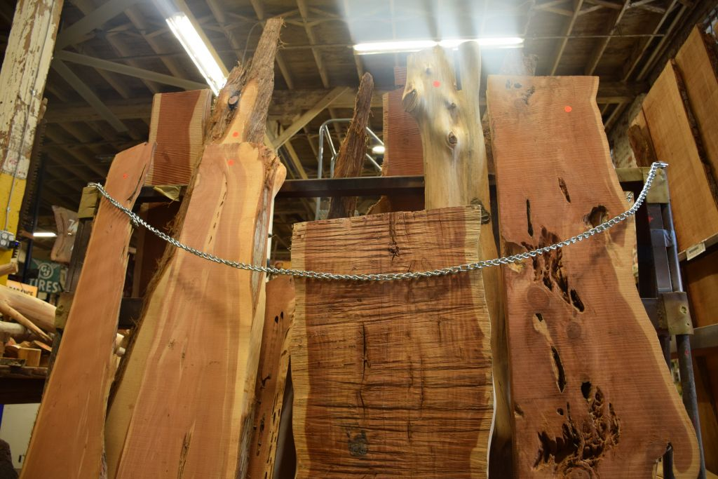 What Is Live Edge Slab Lumber