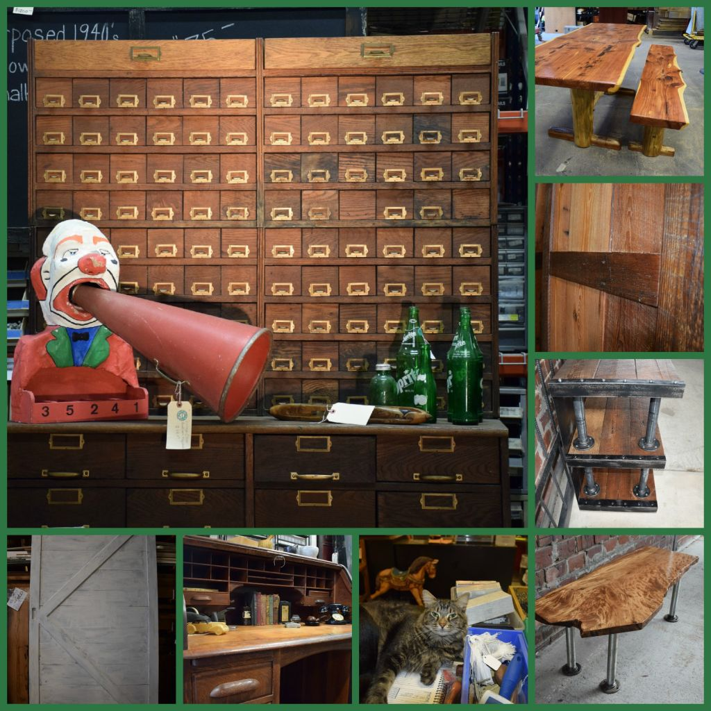 Antique Custom wood shop woodworking furniture Jacksonville, FL  Architectural salvage, reclaimed building materials, antiques and custom  wood shop in ... - Vintage, Antique And Cool Relics In Jacksonville, Fla.