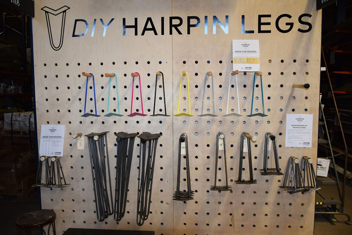 DIY Hairpin Legs