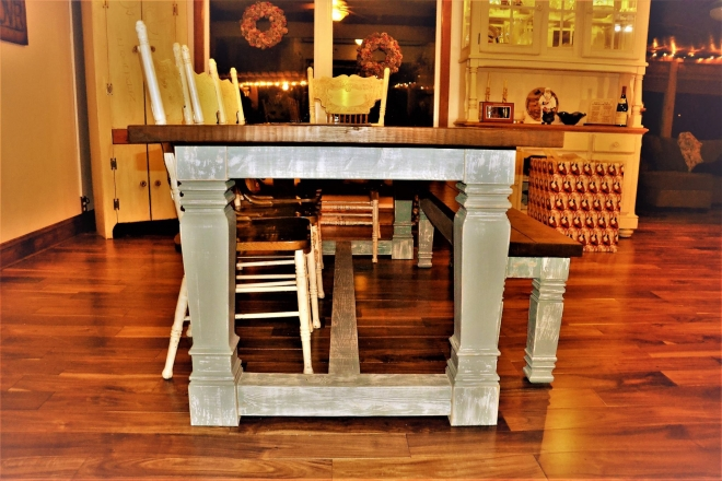 DIY Dining Table and Bench Yvonne Coleman