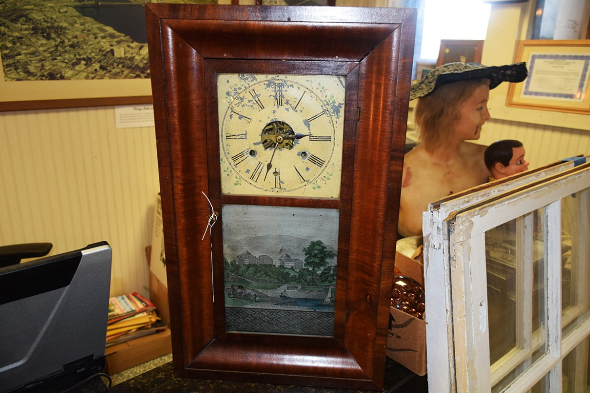 Antique Asylum Brass Clock