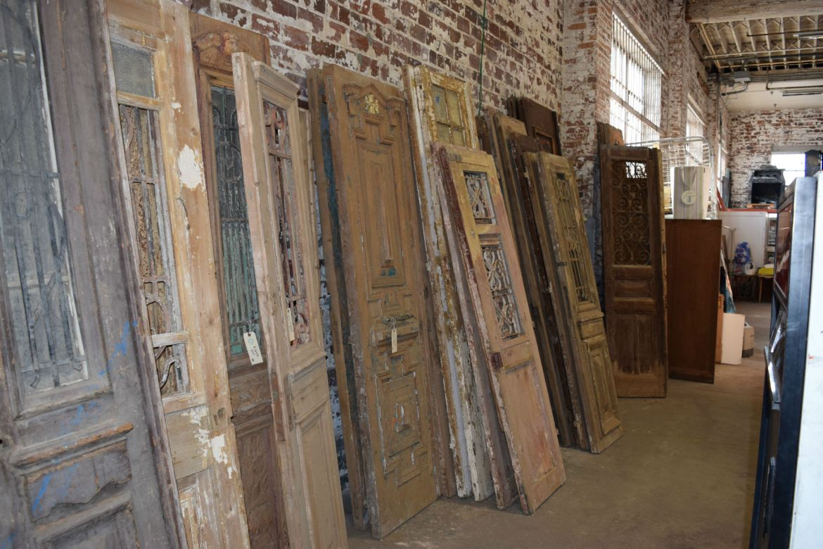 Huge inventory of Antique Egyptian Doors and Shutters