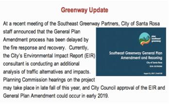 Greenway Update