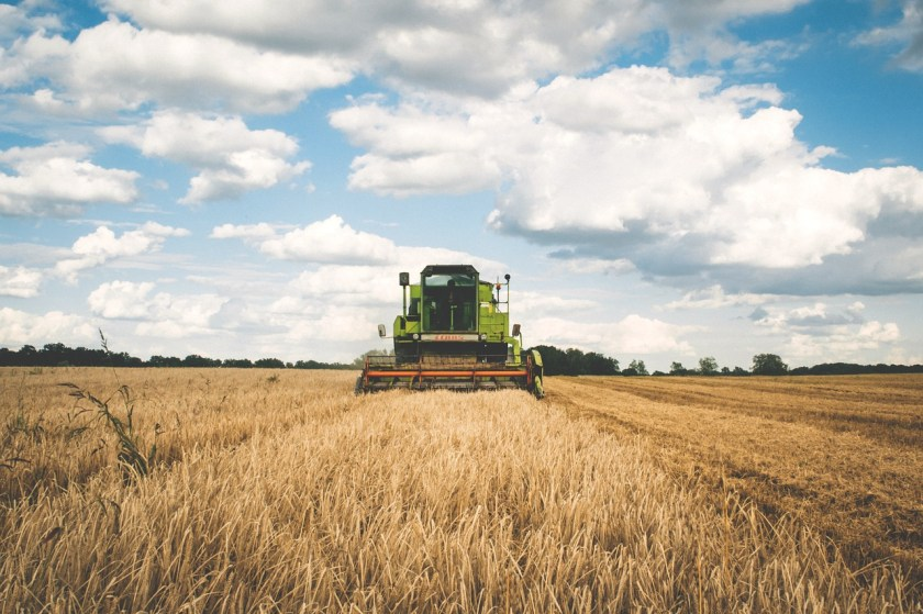 Agriculture creates emissions throughout the production process.