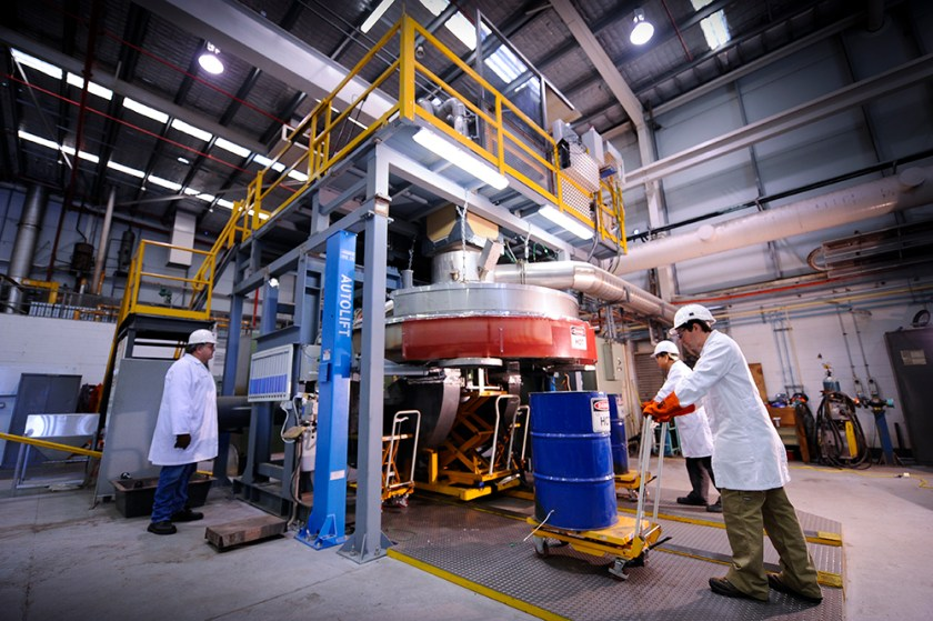 Dry slag granulation technology will result in a cleaner, greener and more productive steel industry.
