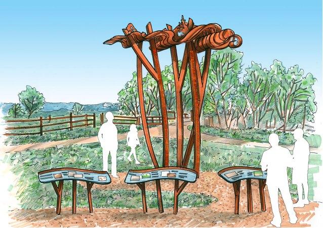 sculpture-monumental-flood-sculpture-sketch-2