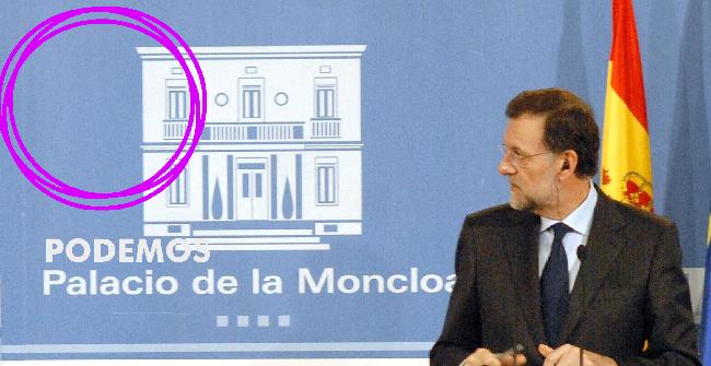 Presentación del círculo Podemos del Palacio de la Moncloa