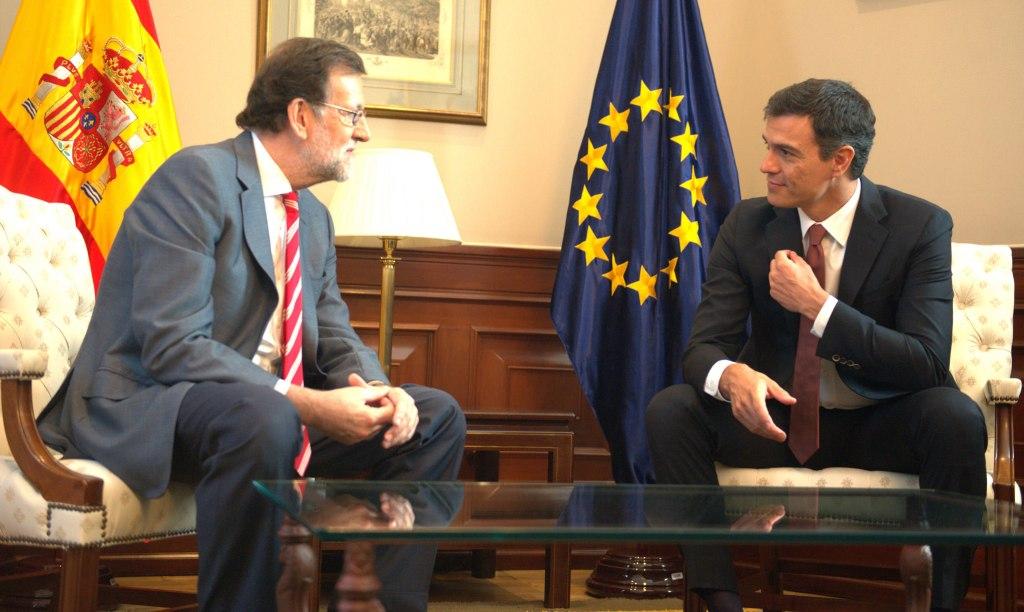 Rajoy ofreció a Sánchez el voto favorable del PP si optaba a la investidura