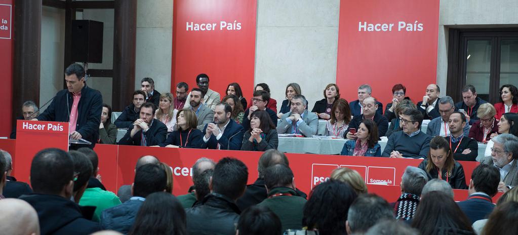 Nuevo Reglamento del PSOE