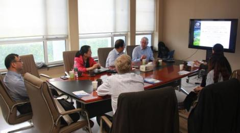 Trust's Peter Head meets the ISDE, HIST and RADI in Beijing